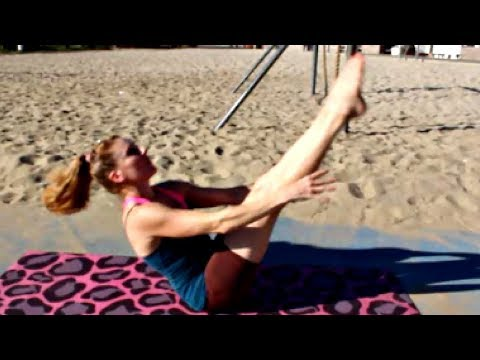 Hard Ab Workout + Obliques & Back Fitness With Coach Meggin