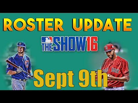 MLB The Show 16 - Roster Update Sept 9th