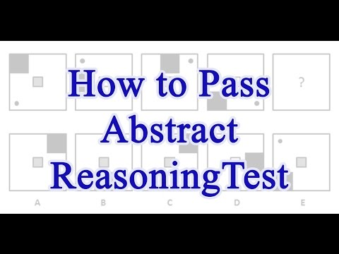 How to Pass Abstract Reasoning Test With Test Questions Examples and Answers explained