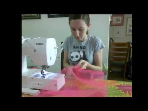 Watch me make a Minnie Mouse ribbon trim tutu! 5.20.17