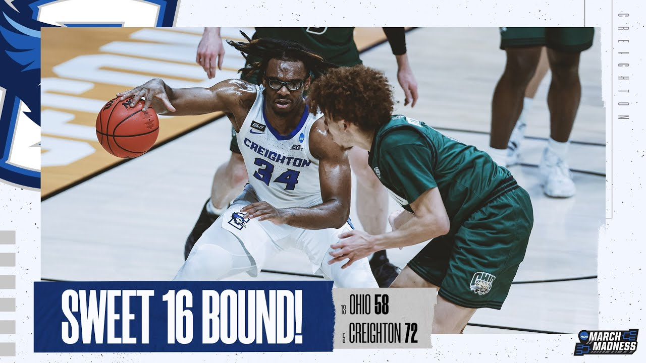 Creighton vs. Ohio - Second Round NCAA tournament extended highlights