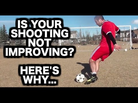 How to shoot a soccer ball with power & accuracy   How to kick a football like a pro   5 tips