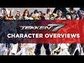 Tekken 7 Character Overviews