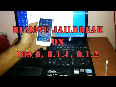How to: remove Jailbreak any iDevice on iOS 8 | Also works with iOS 10
