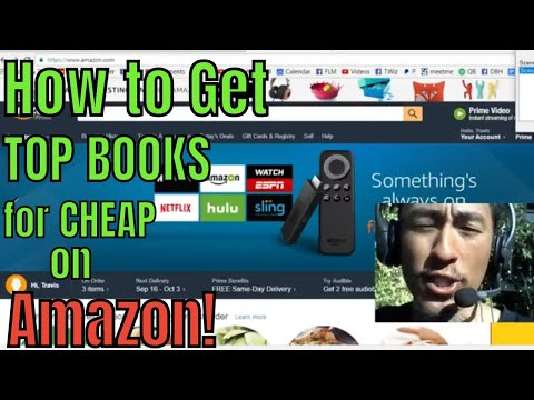 How to Get TOP BOOKS for CHEAP on Amazon!