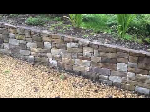 Retaining  Flowerbed Stone wall for sale We Sell Stone.com
