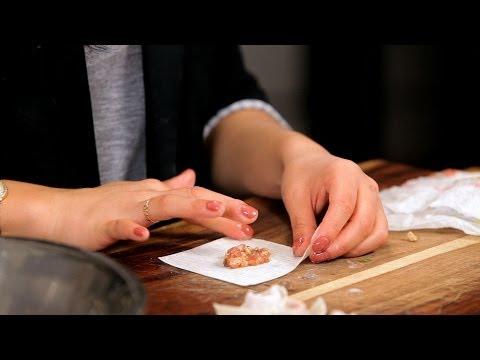 How to Make Wonton & Dumpling Filling | Asian Cooking