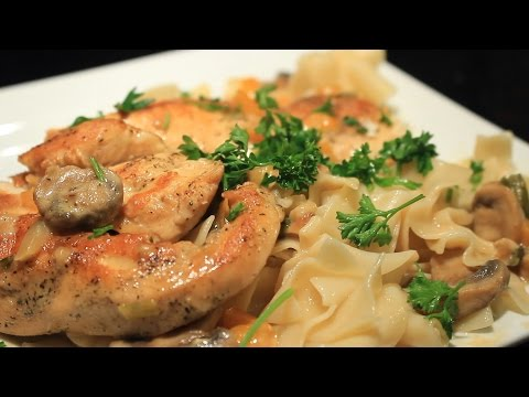 Poulet a la Cream ~ Chicken w/Cream Sauce ~ Shout out to Michaels Home Cooking
