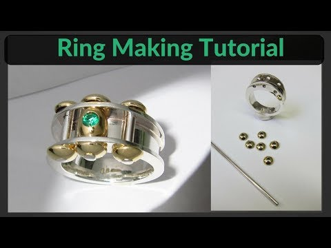 Free Jewelry Making Tutorial - How To Make This Art Ring