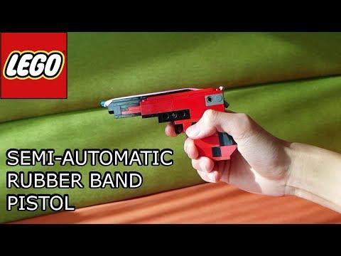 LEGO Mini Rubber Band Pistol - Tutorial