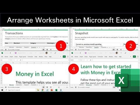 How to Arrange All Open Workbooks in Excel 2016 Tutorial   The Teacher