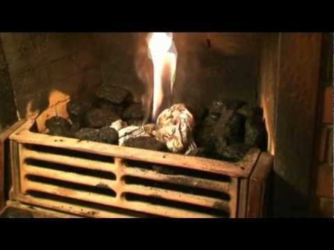 HOW TO LIGHT A COAL FIRE