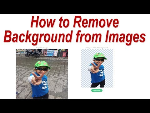 How to Remove Background from Images without using any software