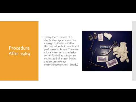 An In depth Look into Female Circumcision -- Hausa