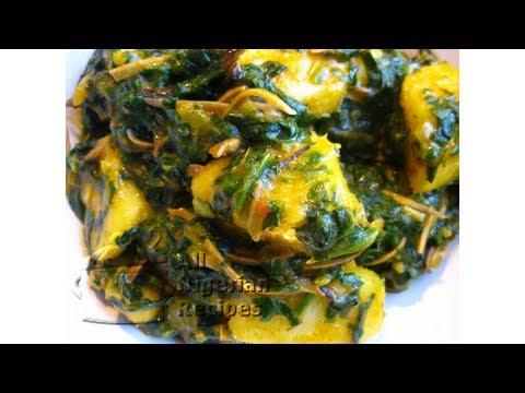 Nigerian Yam & Vegetable with Ukpaka   All Nigerian Recipes