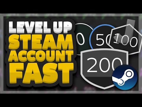 How To Level Up Your Steam Account FAST AND EASY (Working 2017)