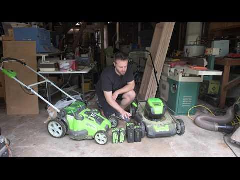 Greenworks 80V Pro Mower Review (in 4k)