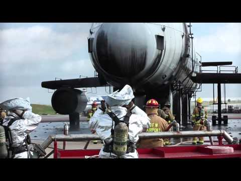 Dallas/Fort Worth International Airport, Fire Training Research Center