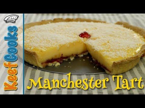 Manchester Tart | School Dinner Nostalgia