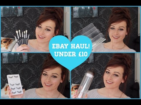 eBAY Haul #3! Bargains Under £10!