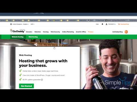 How to buy a Domain & Hosting - GoDaddy - Features & Options - Walkthrough