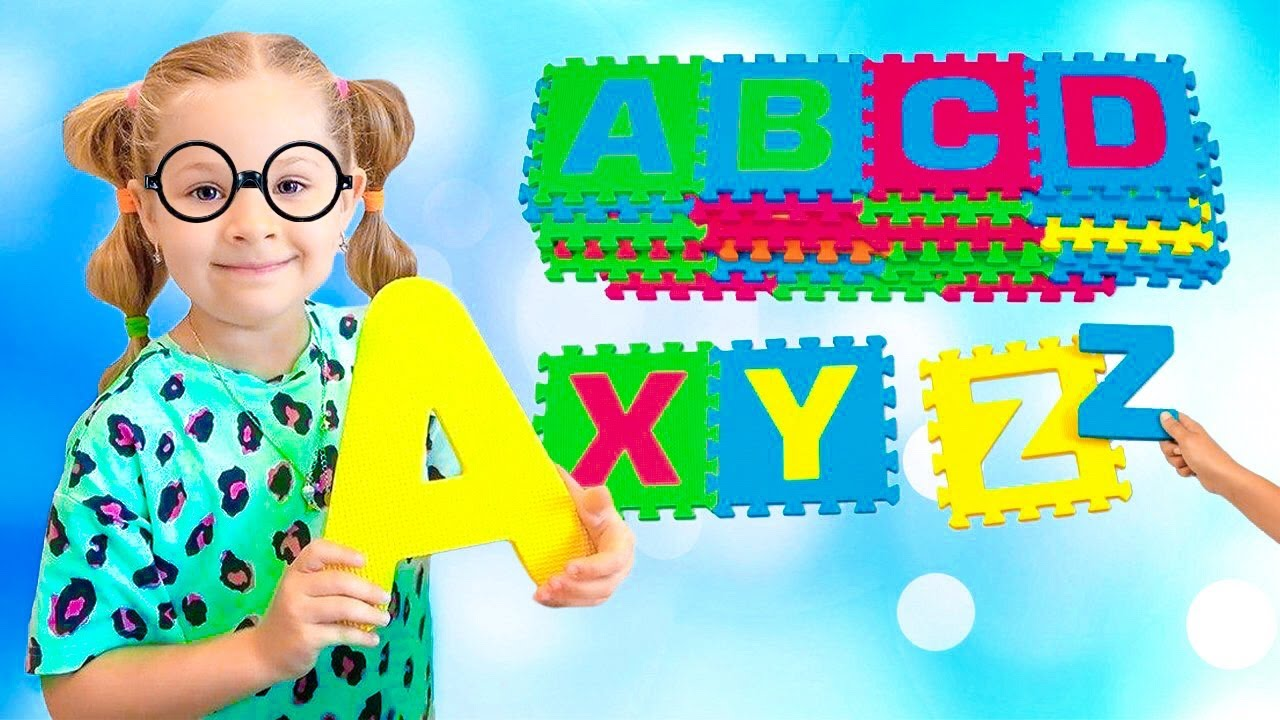 ABC Song + More Nursery Rhymes & Kids Songs - Diana Roma Show