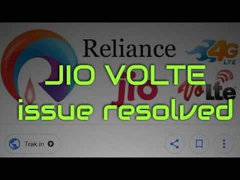 How to fix jio volte calling issue|JIO VOLTE issue resolved|volte issue