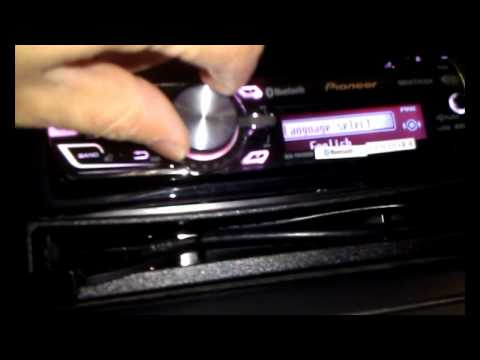 How to Set the clock on pioneer radios