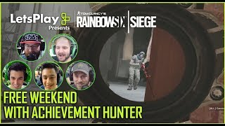 Rainbow Six Siege: Free Weekend with Achievement Hunter | Let's Play Presents | Ubisoft [NA]