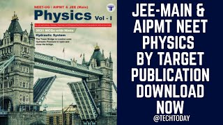 Physics Book for NEET JEE (Main) HQ PDF | Download Now