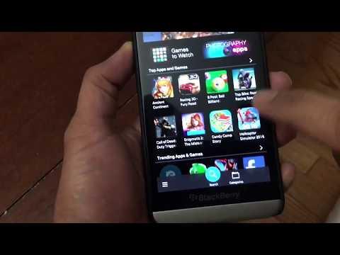 Installing Whatsapp on Blackberry OS 10 (Dec 2017)