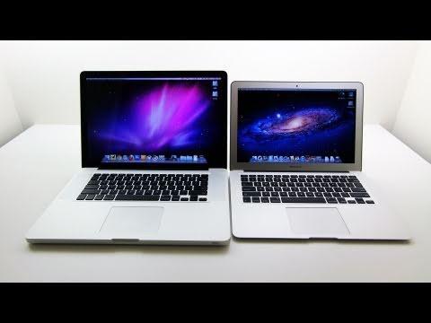 MacBook Air (Core i5) vs MacBook Pro (Core i7 Quad) 2011