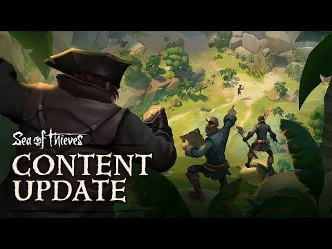 Official Sea of Thieves Technical Alpha Update: The Quest For Gold