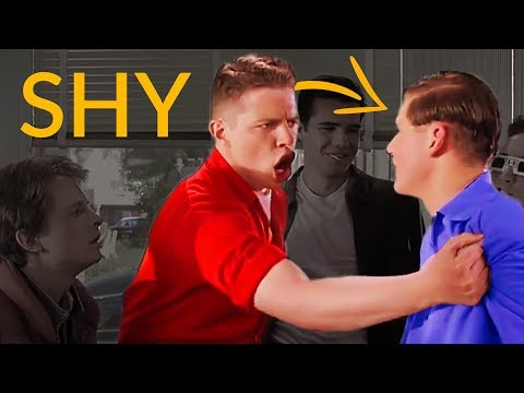 Kill SOCIAL SHYNESS With The Biff Tannen Strategy 💪