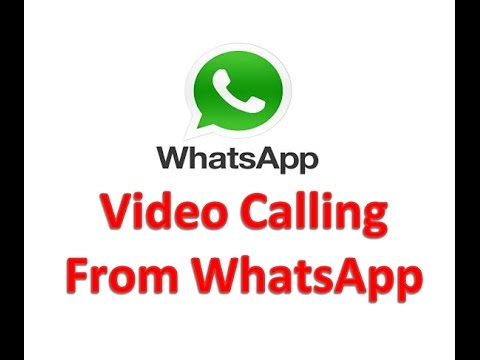 How to Video Calling from Whatsapp