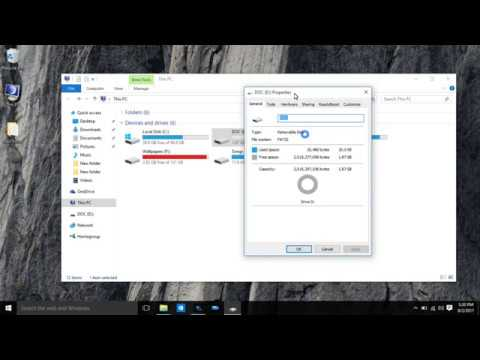 How to convert fat/fat32 to Ntfs without losing data(Hindi/Urdu)