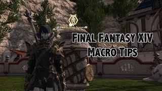 Final Fantasy Xiv Macros: Marking Targets (redone)