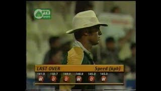Pakistan Miracle Victory vs South Africa Coca Cola Cup 6th Match 1999- 2000
