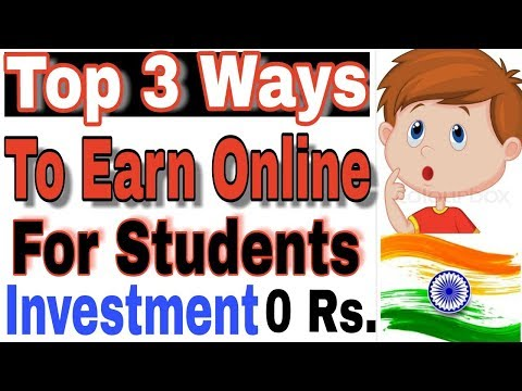 Best 3 Part Time online jobs for School /College Students in India for free.