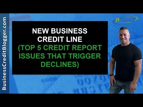 New Business Credit Line