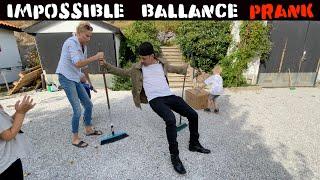 IMPOSSIBLE BALLANCE PRANK-Julien Magic