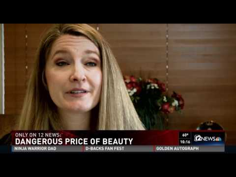 Dr. Shapiro on 12 News - The Dangerous Price of Beauty