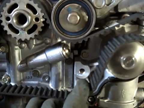 Subaru 2.5l Timing Belt Replacement (2002 Forester)
