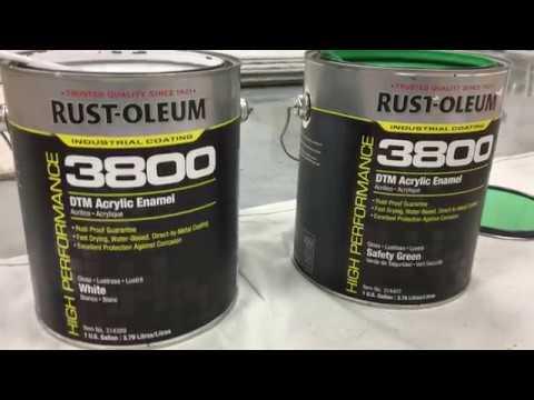 Rust-Oleum Industrial- 3800 System DTM Acrylic Enamel