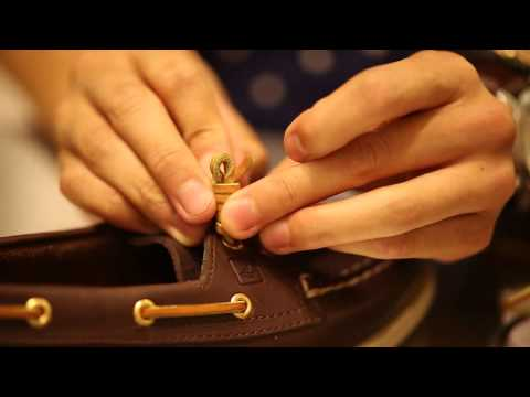 Barrel Lacing by Sperry