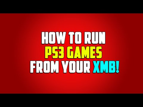 How To Run PS3 Games From Your XMB! (HD)