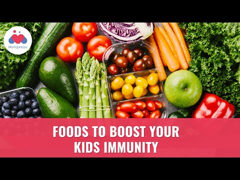 Natural Foods to Boost your Kid's Immunity