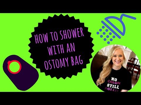 How to shower with an Ostomy Bag