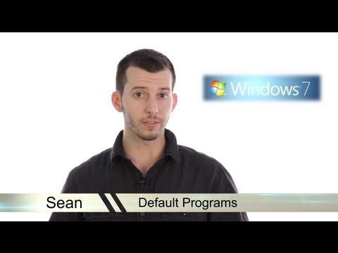 Learn Windows 7 - Setting Default Programs