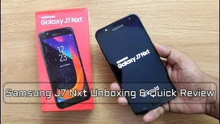 Samsung Galaxy J7 Nxt Unboxing And Review I Hindi